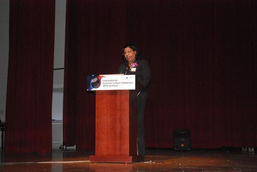 Conference speaker Nolda C. Römer-Kenepa, ICA VP CITRA