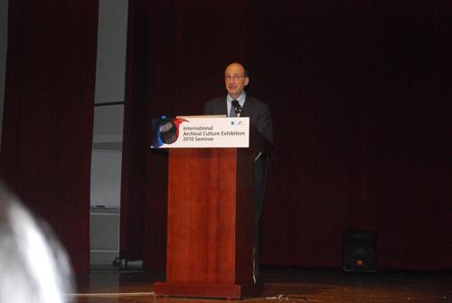 Conference speaker Lew Bellardo, ICA VP Programme