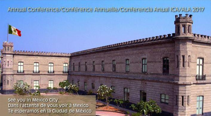 Annual Conference 2017 ALA ICA Mexico Postcard