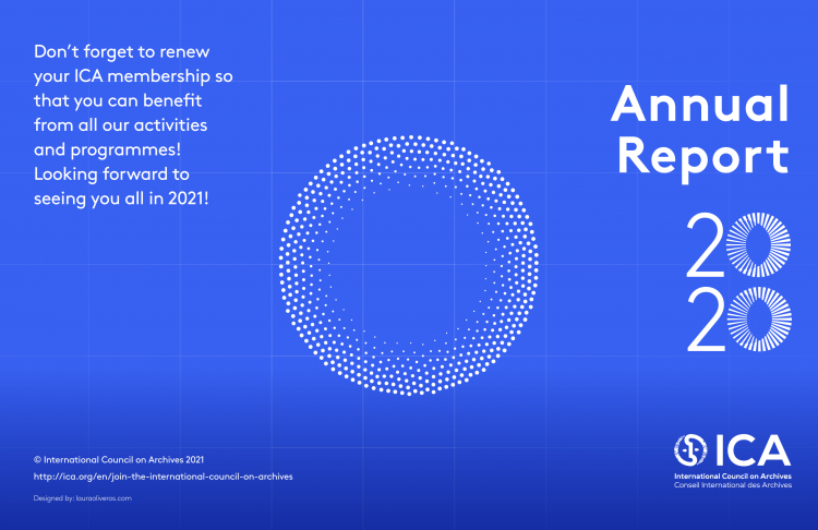 ICA Annual Report 2020 Cover