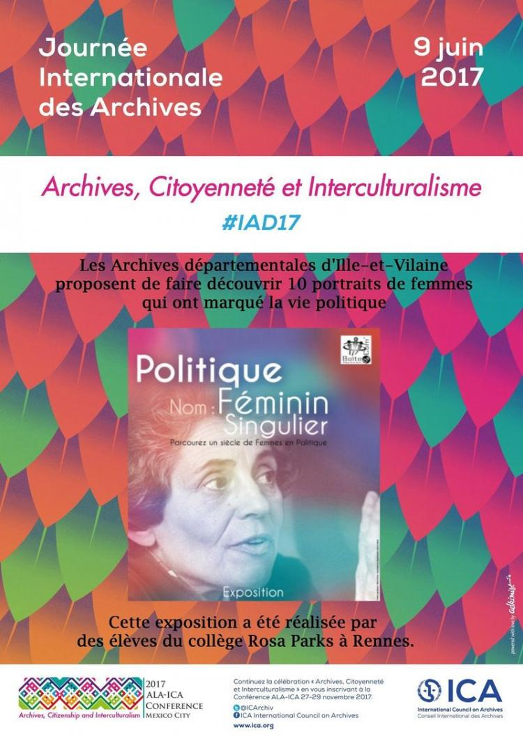 Archives Ille-et-Vilaine IAD17 programme