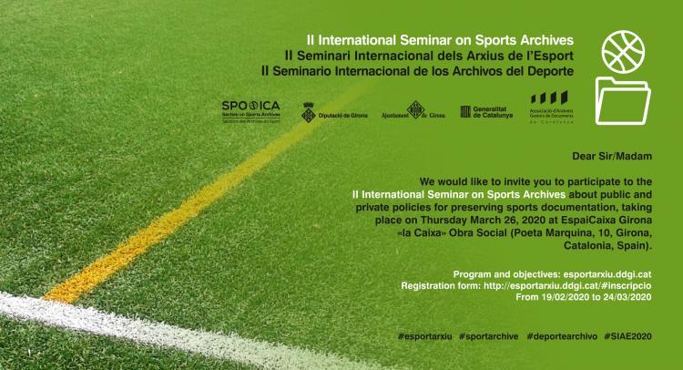 Banner ICA-SPO International Seminar March 2020 Invitation