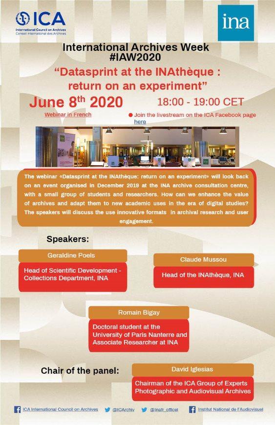 IAW2020 webinar ICA/INA