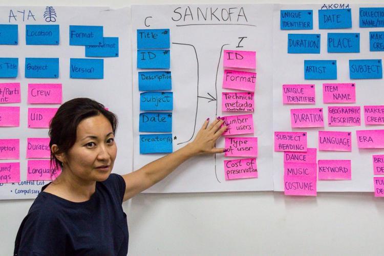 SOIMA 2017 Africa Programme - workshop : Group presentation on Metadata Description, by Forget Chaterera