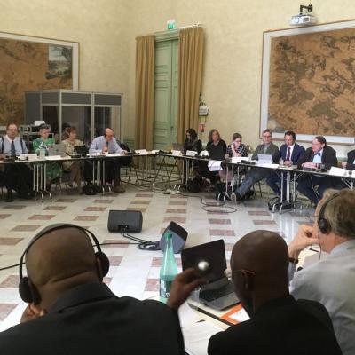 ICA Executive Board 2018 Vincennes, France - Jeff James FAN President
