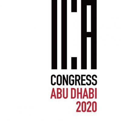 ICAAbuDhabi2020 logo
