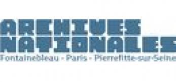 Archives Nationales de France, logo, Tous droits réservés