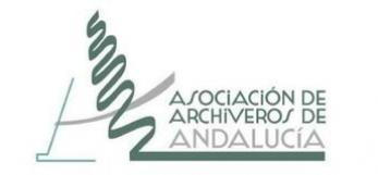 Asociacion de Archiveros de Andalucia, logo all rights reserved
