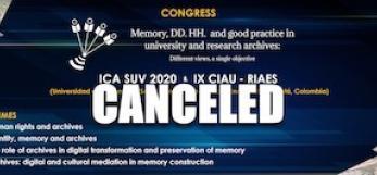 Bogota conference cancelled