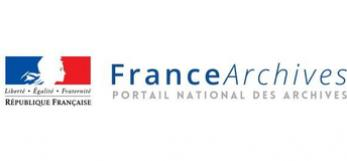 Logo FranceArchives - portail des archives de France, 2017, copyright Archives de France
