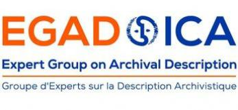The logo of ICA Expert Group on Archival Description