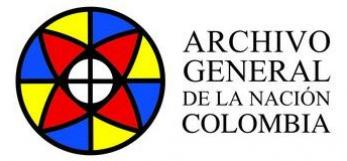Archivo General de la Nación de Colombia, logo 2017, all rights reserved