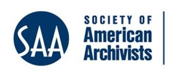 Society of American Archivists Logo, copyright reserved