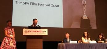 SPA Film Festival Ceremony, 2016, Vilde Ronge, David Fricker, Normand Charbonneau, Cécile Fabris, Christine Trembleau, droits réservés