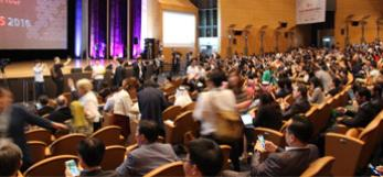 Crowd from the Opening Ceremony Seoul 2016 Congress